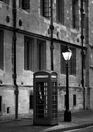Telephone Box, St Giles